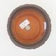 Keramische Bonsai-Schale 13 x 13 x 10,5 cm, graue Farbe - 3/3
