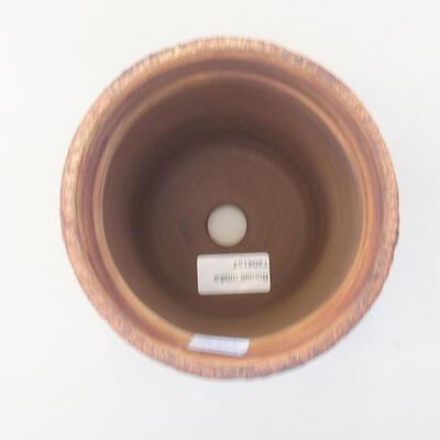 Keramische Bonsai-Schale 13 x 13 x 14 cm, graue Farbe - 3