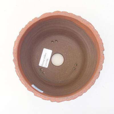 Keramische Bonsai-Schale 15 x 15 x 11 cm, Farbe schwarz - 3