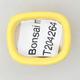 Mini Bonsai Schüssel 2,5 x 2 x 1,5 cm, Farbe gelb - 3/3