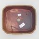 Keramische Bonsai-Schale 20,5 x 17,5 x 6 cm, braune Farbe - 3/3