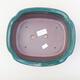 Keramische Bonsai-Schale 23 x 20 x 7 cm, Farbe grün - 3/3