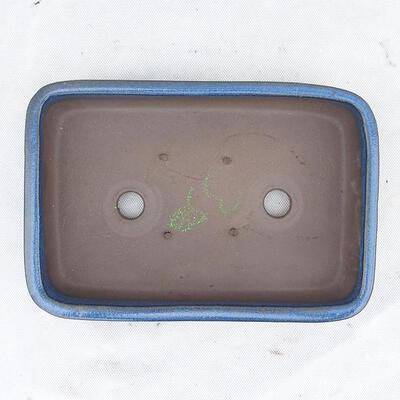 Bonsaischale 25 x 17 x 5 cm, Farbe blau - 3