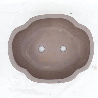 Bonsaischale 34 x 28 x 11 cm, graue Farbe - 3