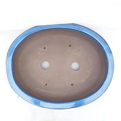 Bonsaischale 51 x 41 x 10 cm, Farbe blau - 3