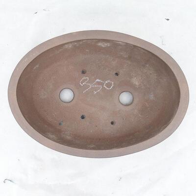 Bonsaischale 31 x 22 x 10 cm, graue Farbe - 3