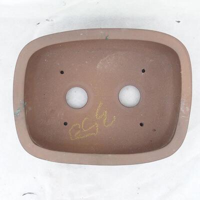 Bonsaischale 31 x 24 x 9,5 cm, graue Farbe - 3
