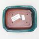 Keramische Bonsai-Schale 13 x 10 x 3,5 cm, Farbe grün - 3/3