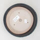 Keramische Bonsai-Schale 18 x 18 x 5 cm, Farbe grau - 3/3