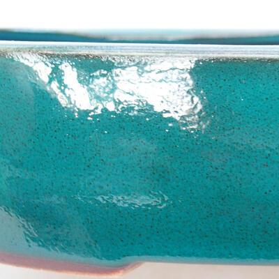 Keramische Bonsai-Schale 22 x 17 x 7 cm, Farbe grün - 3