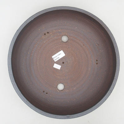 Keramik Bonsai Schüssel 30 x 30 x 7 cm, Farbe rissig - 3