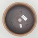 Keramische Bonsai-Schale 18 x 18 x 7,5 cm, Farbe rissig - 3/4