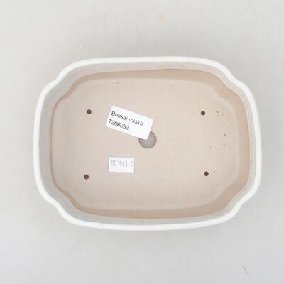 Keramische Bonsai-Schale 17,5 x 13,5 x 5 cm, beige Farbe - 3
