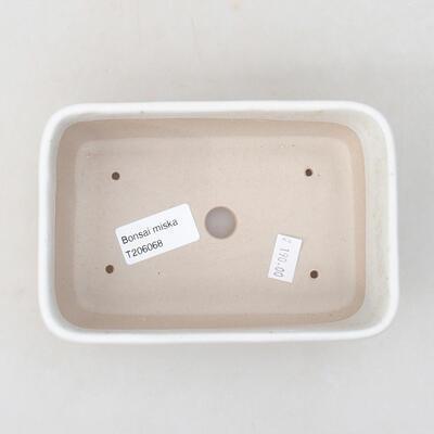 Keramische Bonsai-Schale 15,5 x 10,5 x 5 cm, beige Farbe - 3