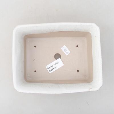 Keramische Bonsai-Schale 17,5 x 14 x 7 cm, weiße Farbe - 3