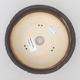 Keramische Bonsai-Schale 17 x 17 x 5,5 cm, rissige Farbe - 3/4