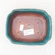 Keramische Bonsai-Schale 15 x 12 x 4 cm, Farbe grün - 3/3