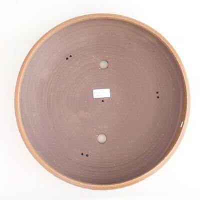 Keramische Bonsai-Schale 37 x 37 x 9 cm, beige Farbe - 3