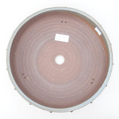 Keramische Bonsai-Schale 26,5 x 26,5 x 5,5 cm, graue Farbe - 3