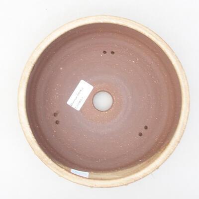 Keramik Bonsai Schüssel 20 x 20 x 5 cm, beige Farbe - 3