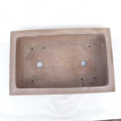 Bonsaischale 61 x 40 x 17 cm, graue Farbe - 3