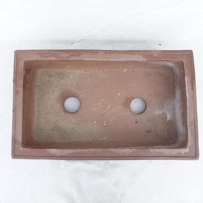 Bonsaischale 49 x 29 x 13 cm, graue Farbe - 3