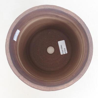 Bonsaischale aus Keramik 17 x 17 x 17 cm, Farbe rissig - 3