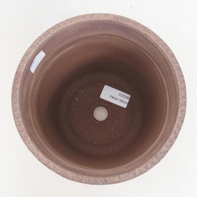 Bonsaischale aus Keramik 16,5 x 16,5 x 16,5 cm, Farbe rissig - 3