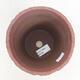 Bonsaischale aus Keramik 13,5 x 13,5 x 14,5 cm, Farbe rissig - 3/3