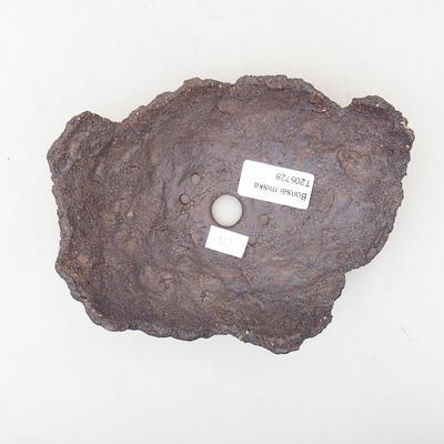 Keramikschale 11 x 10 x 9 cm, graue Farbe - 3