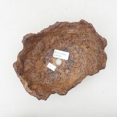 Keramikschale 16 x 13 x 8 cm, graue Farbe - 3