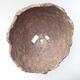 Keramikschale 25 x 24 x 21 cm, graue Farbe - 3/3