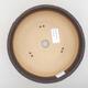 Bonsaischale aus Keramik 18,5 x 18,5 x 6 cm, Farbe rissig - 3/4
