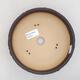Bonsaischale aus Keramik 17,5 x 17,5 x 5,5 cm, Farbe rissig - 3/4