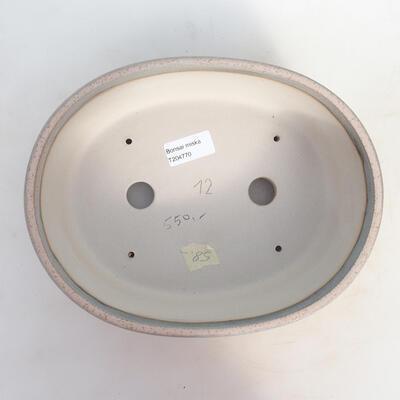 Bonsai-Schale 25,5 x 20 x 7,5 cm, Farbe beige-grau - 3