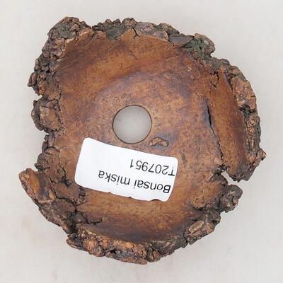 Keramikschale 7,5 x 6,5 x 5 cm, graubraun - 3