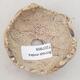 Keramikschale 7 x 7 x 5,5 cm, graubraun - 3/3