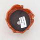 Keramikschale 7,5 x 7 x 5,5 cm, Farbe orange - 3/3