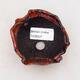 Keramikschale 7,5 x 6,5 x 5 cm, Farbe orange - 3/3