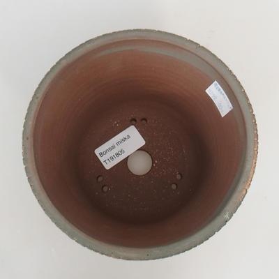 Keramik-Bonsaischale - in einem Gasofen mit 1240 ° C gebrannt - 3