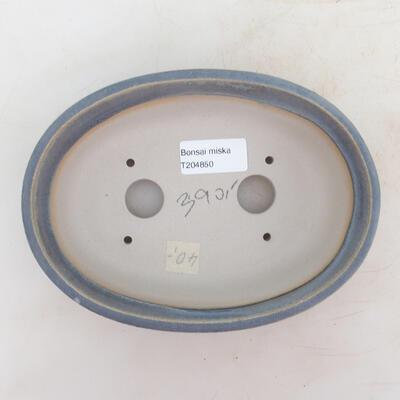 Bonsai-Schale 18 x 13 x 6 cm, Farbe blau - 3