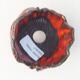 Keramikschale 7 x 7 x 7 cm, Farbe orange - 3/3