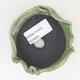 Keramikschale 7 x 7 x 5 cm, Farbe grün - 3/3