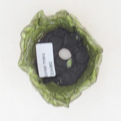 Keramikschale 8 x 7 x 5,5 cm, Farbe grün - 3