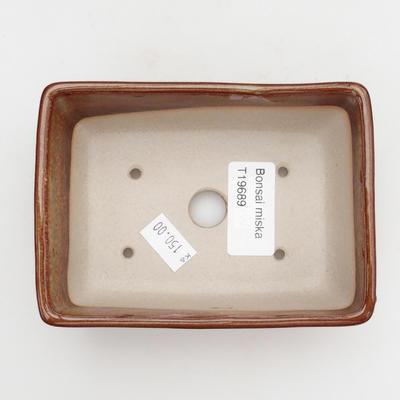 Keramik-Bonsaischale - im Gasofen bei 1240 ° C gebrannt - 3