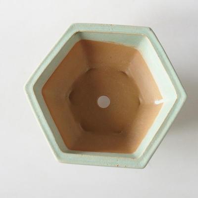 Bonsai Schüssel + Untertasse H 57 - Schüssel 19 x 18 x 7,5 m, Untertasse 19 x 18 x 1,5 cm - 3