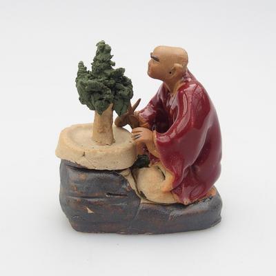 Keramik-Figur - Bonsajista - 3