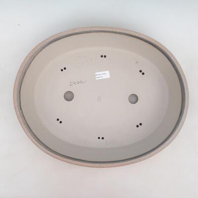 Bonsai-Schale 43 x 35 x 10,5 cm, grau-beige Farbe - 3