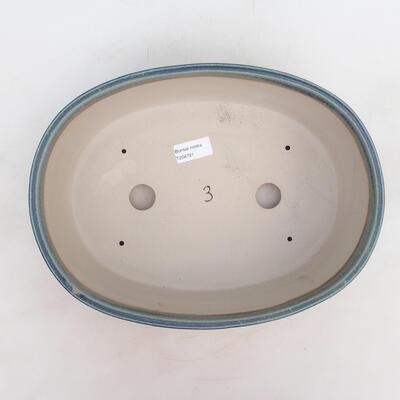 Bonsai-Schale 31 x 24 x 10 cm, Farbe blau - 3