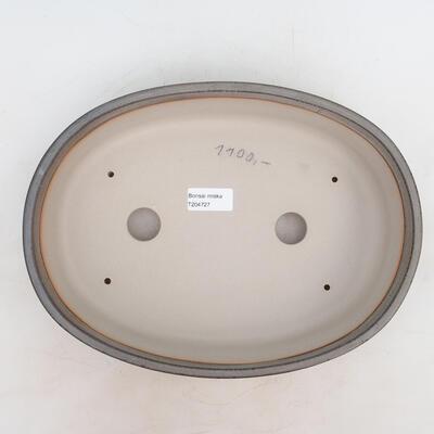 Bonsai-Schale 30,5 x 22,5 x 7,5 cm, graue Farbe - 3